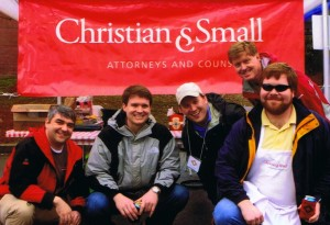 Christian & Small Chili Cook-Off Team